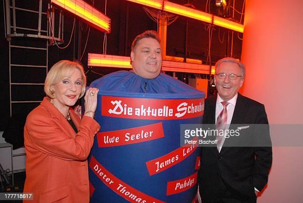 Dagmar Berghoff Michael Thürnau Jo Brauner AftershowParty nach NDRShow '50 Jahre Die Aktuelle Schaubude' Studio 5 'Studio Hamburg' Deutschland Europa...