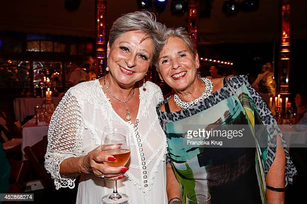 Dagmar Frederic and Heidi Kranz attend the Udo Walz Celebrates His 70th Birthday at BAR jeder Vernunft on July 28 2014 in Berlin Germany