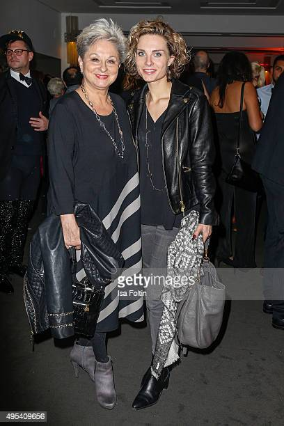 Dagmar Frederic and her daughter Maxie attend the 1st Act Now Jugend Award at FriedrichstadtPalast on November 2 2015 in Berlin Germany