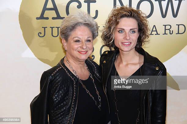 Dagmar Frederic and her daughter Maxie Frederic attend the 1st Act Now Jugend Award at FriedrichstadtPalast on November 2 2015 in Berlin Germany