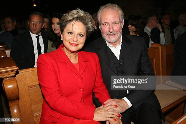 Dagmar Frederic And Husband Dr Klaus Lenk at Everyman Premiere In Berlin Cathedral on 191006