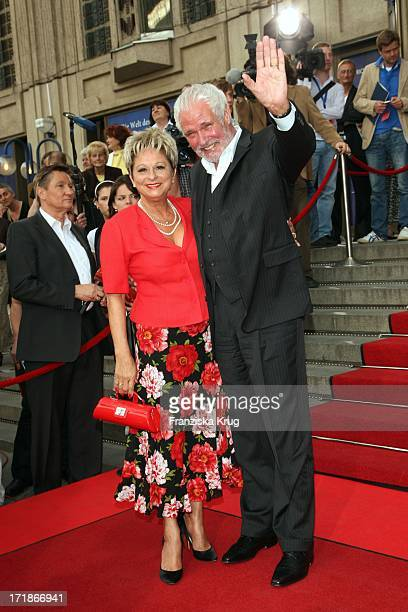 Dagmar Frederic And Husband Dr Klaus Lenk at the Anniversary Gala to 25 Years of New FriedrichstadtPalast In Berlin