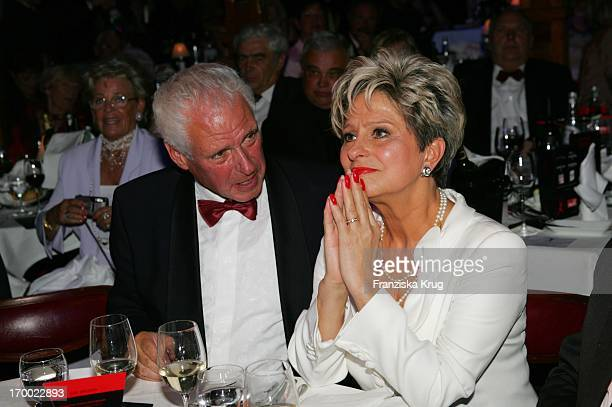 "Dagmar Frederic and husband Klaus Lenk 60th Birthday ""Pomp & Circumstance Daggi"" On In ""Pomp Duck"" In Berlin 150405."