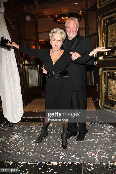 Dagmar Frederic and husband Klaus Lenk at the 7th Russian German economy politics and culture ball at the Russian Embassy in Russian Palais Unter Den...