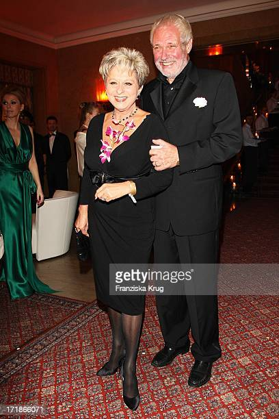 Dagmar Frederic and husband Klaus Lenk at the 7th Russian German economy, politics and culture ball at the Russian Embassy in Russian Palais Unter...