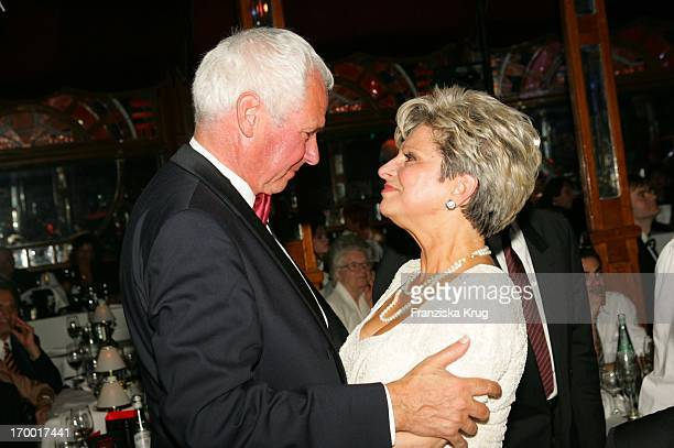 Dagmar Frederic and husband Klaus Lenk For your 60th Birthday Pomp amp Circumstance Daggi On In Pomp Duck In Berlin 150405