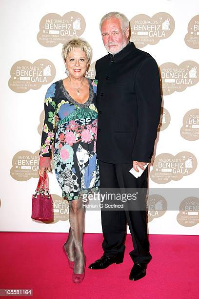Dagmar Frederic and Klaus Lenk attend the 7th McDonald's Charity Gala at the Station on October 16 2010 in Berlin Germany