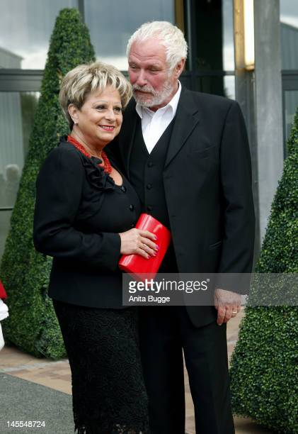 Dagmar Frederic and Klaus Lenk attend the world premiere of the musical 'Friedrich Der Grosse' at Metropolis Halle r on June 1, 2012 in Potsdam,...