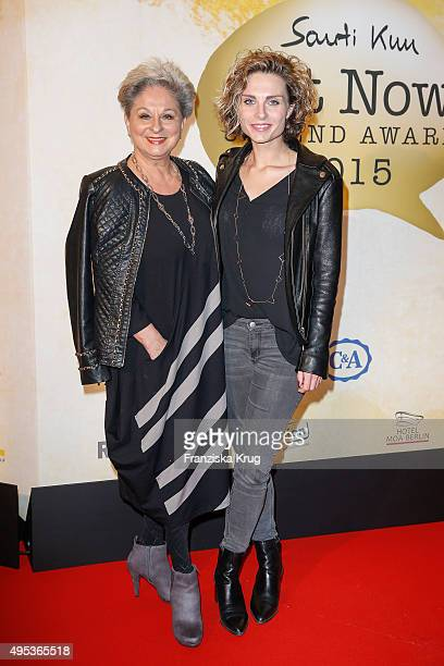 Dagmar Frederic and Maxie Frederic attend the 1st Act Now Jugend Award on November 02 2015 in Berlin Germany