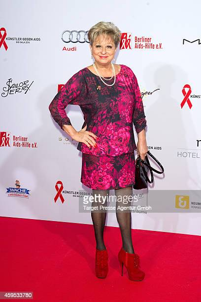 Dagmar Frederic attends the Artists Against Aids Gala 2014 at Theater des Westens on November 24 2014 in Berlin Germany