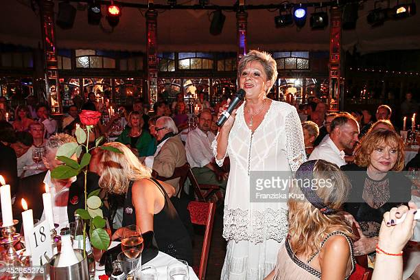 Dagmar Frederic attends the Udo Walz Celebrates His 70th Birthday at BAR jeder Vernunft on July 28 2014 in Berlin Germany
