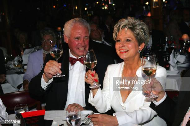 Dagmar Frederic celebrates her 60th Birthday with husband Klaus Lenk at Pomp Daggi Circumstance at Pomp Duck In Berlin