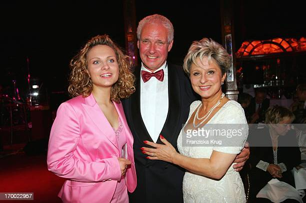 Dagmar Frederic Celebrates With husband Klaus Lenk And Daughter Maxi your 60th Birthday at Pomp Daggi Circumstance at Pomp Duck In Berlin
