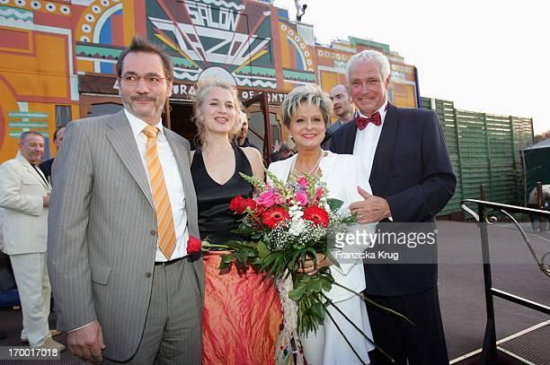 Dagmar Frederic Celebrates With husband Klaus Lenk Prime Minister of Brandenburg Matthias Platzeck And Jeanette Jesorka your 60th Birthday at Pomp...