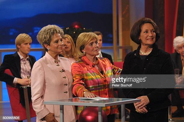 Dagmar Frederic Gisela Wewel Überraschungsgast Edda Moser Maxi Arland ARDMusikshow GeburtstagsGala zum 70Geburtstag von G ü n t e r W e w e l 'Kein...