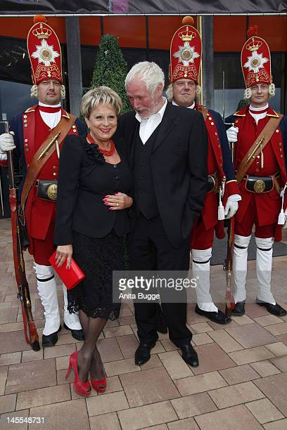 Dagmar Frederic und Klaus Lenk attend the world premiere of the musical 'Friedrich Der Grosse' at Metropolis Halle on June 1, 2012 in Potsdam,...