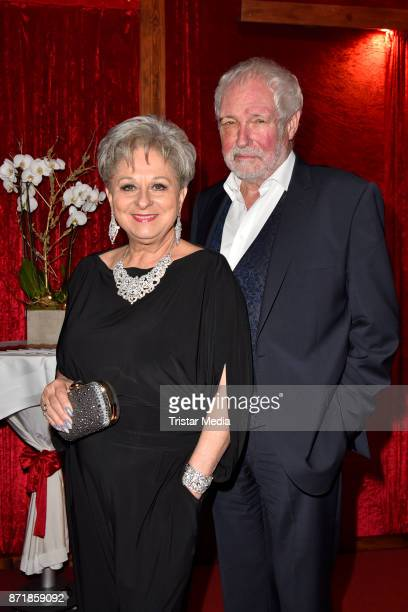 Dagmar Frederick and her husband Klaus Lenk attend the Palazzo VIP premiere on November 8 2017 in Berlin Germany