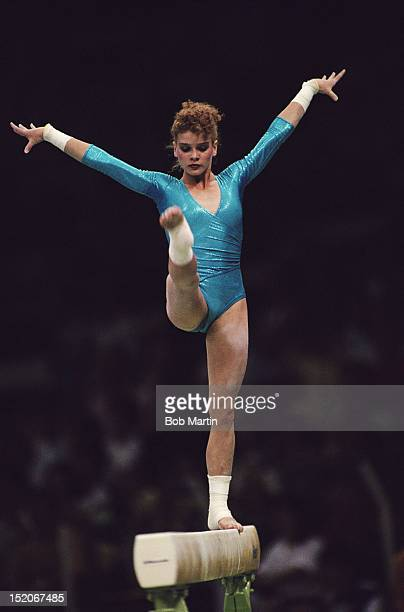 Dagmar Kersten of East Germany during the Women's Team AllAround on 21st September 1988 during the XXIV Summer Olympic Games at the Olympic...