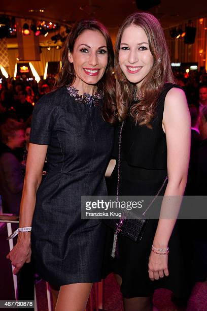 Dagmar Koegel and Alana Siegel attend the Echo Award 2015 After Show Party on March 26 2015 in Berlin Germany