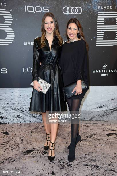 Dagmar Koegel and her daughter Alana Siegel attend the PLACE TO B Berlinale party during 69th Berlinale International Film Festival at Borchardt...