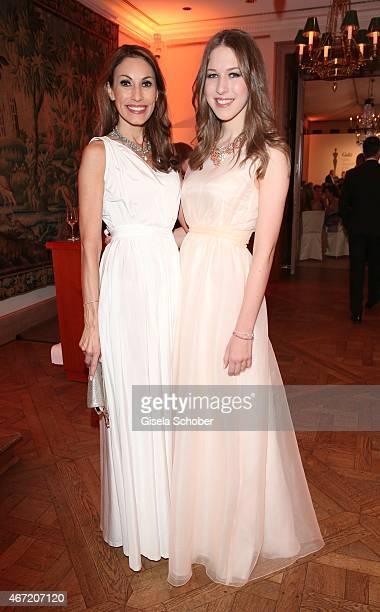 Dagmar Koegel and her daughter Alana Siegel during the Gala Spa Awards 2015 at Brenners ParkHotel Spa on March 21 2015 in BadenBaden Germany