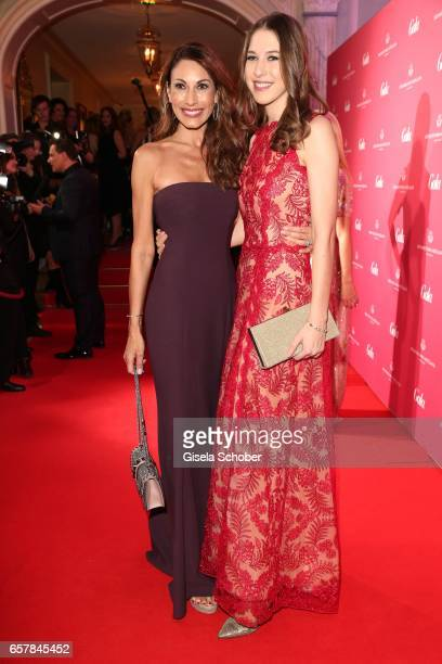 Dagmar Koegel and her daughter Alana Siegel during the Gala Spa Awards at Brenners ParkHotel Spa on March 25 2017 in BadenBaden Germany