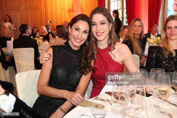 Dagmar Koegel and her daughter Alana Siegel during the Gala Spa Awards at Brenners ParkHotel Spa on April 14 2018 in BadenBaden Germany