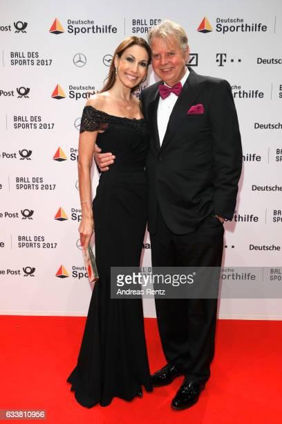 Dagmar Koegel and Karlheinz Koegel attend the German Sports Gala 'Ball des Sports 2017' on February 4 2017 in Wiesbaden Germany