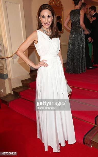 Dagmar Koegel during the Gala Spa Awards 2015 at Brenners ParkHotel Spa on March 21 2015 in BadenBaden Germany