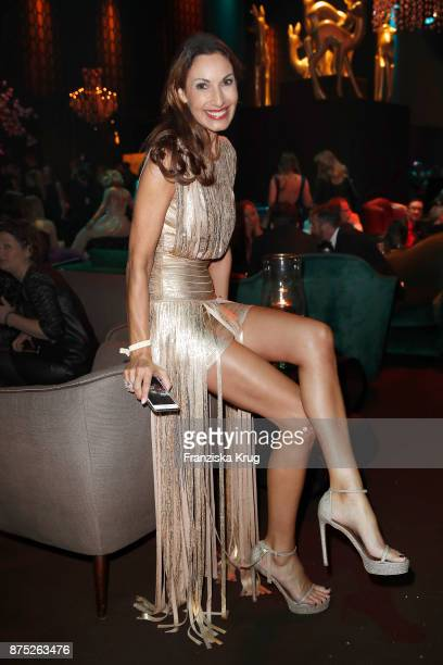 Dagmar Koegel poses at the Bambi Awards 2017 party at Atrium Tower on November 16 2017 in Berlin Germany
