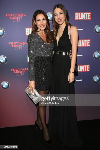 Dagmar Kogel and her daughter Alana Siegel during the BUNTE BMW Festival Night at Restaurant Gendarmerie during the 69th Berlinale Filmfestival on...