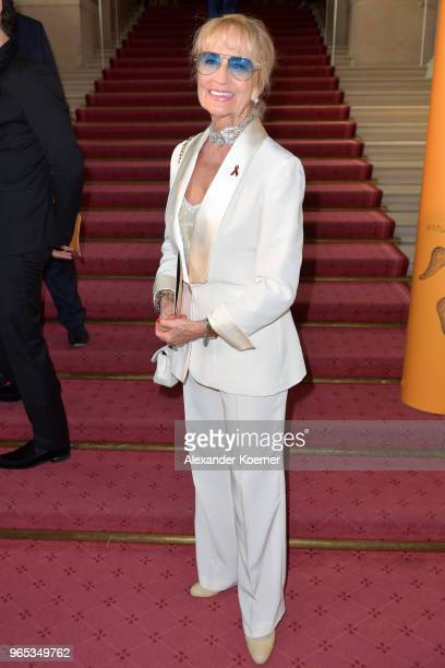 Dagmar Koller attends the LIFE Celebration Concert at Burgtheater on June 1 2018 in Vienna Austria The concert marks the opening of the Life Ball an...