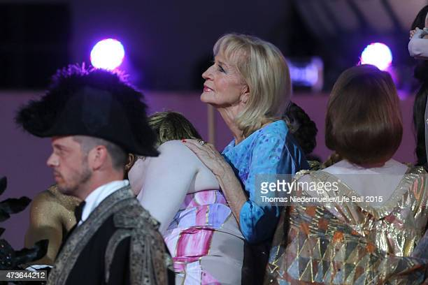 Dagmar Koller during the Life Ball 2015 show at City Hall on May 16 2015 in Vienna Austria
