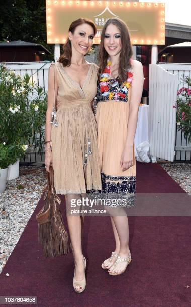 Dagmar Siegel and her daughter Alana Siegel attend the party for Walz's 70th birthday at 'Bar jeder Vernunft' in Berlin Germany 28 July 2014 Photo...