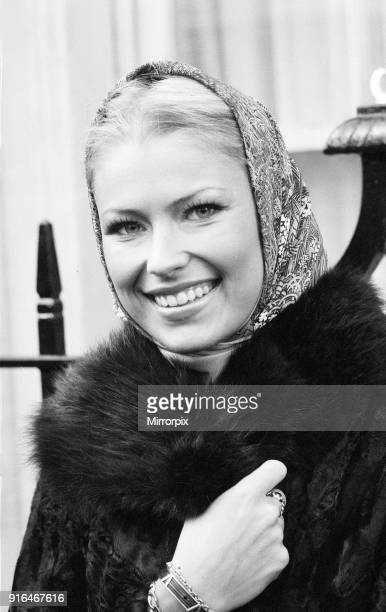 Dagmar Winkler, Miss Germany, Miss World Contestant, London, 16th November 1977.