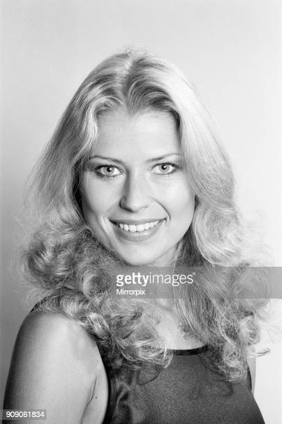 Dagmar Winkler, Miss Germany, Miss World Contestant, Photo-call at the Daily Mirror Studios, London, 11th November 1977.