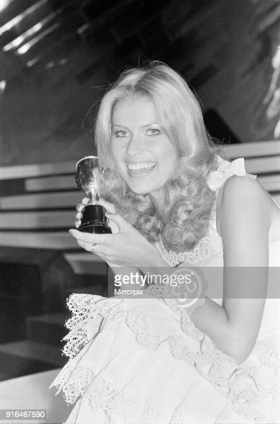 Dagmar Winkler, Miss Germany, Miss World Contestant, voted Miss Photogenic, pictured during rehearsals, London, 16th November 1977.