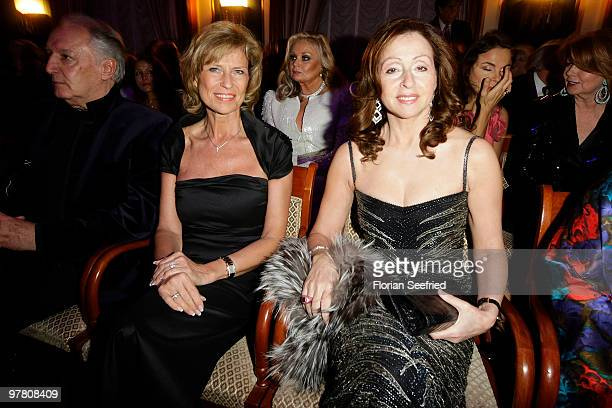 Dagmar Woerl and singer Vicky Leandros attend the Russian Fashion Gala at  the Embassy of the 6fad7d7fba