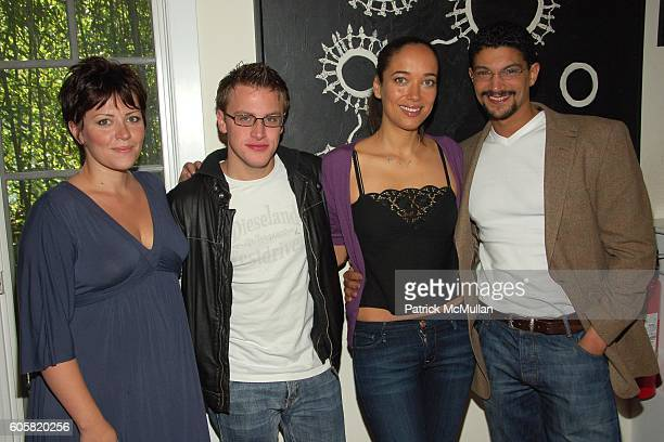 Dagmara Dominczyk Noah Fleiss Carmen Chaplin and Mido Hamada attend HAMPTON'S INTERNATIONAL FILM FESTIVAL Hosts Rising Stars Brunch at Nick and...
