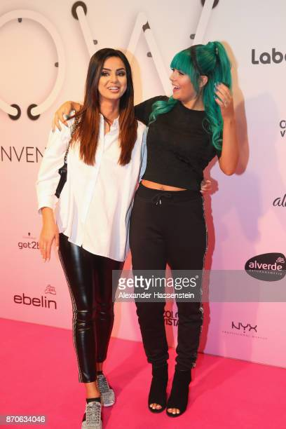 Dagmara Nicole Ochmanczyk alias Dagi Bee attends with Tamtam Beauty the GLOW The Beauty Convention at Station on November 4 2017 in Berlin Germany