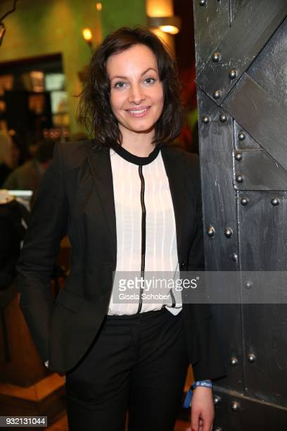 Dagny Dewath during the NdF after work press cocktail at Parkcafe on March 14 2018 in Munich Germany
