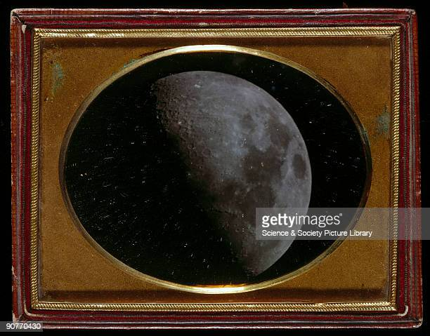 Daguerreotype by John Adams Whipple and William Cranch Bond Whipple a Boston daguerreotypist collaborated with Bond an astronomer to produce...
