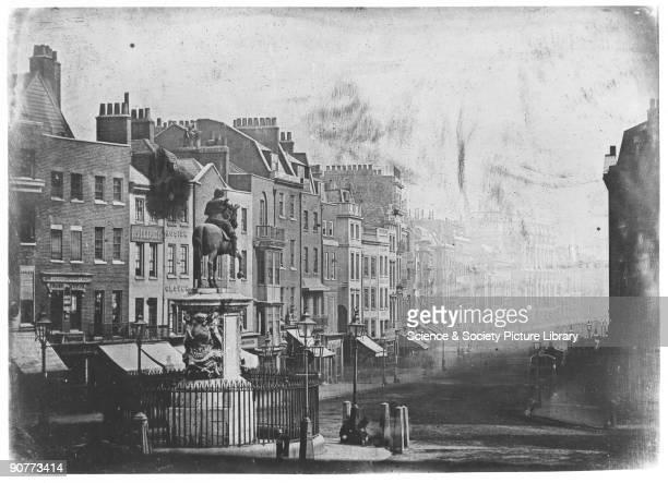 Daguerreotype by M de St Croix. This is one of the earliest daguerreotype photographs of England, taken when Frenchman M de St Croix was in London...