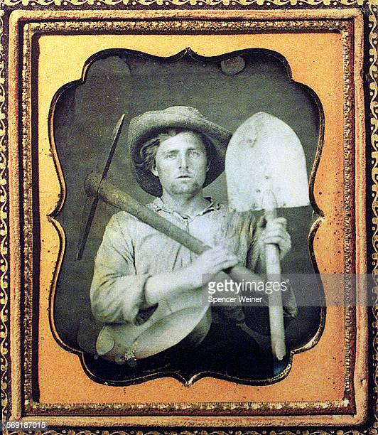 Daguerreotype, circa 1852, on display as part of ' California Gold Rush'. The Jaunts column will pay a visit to the California Oil Museum in Santa...