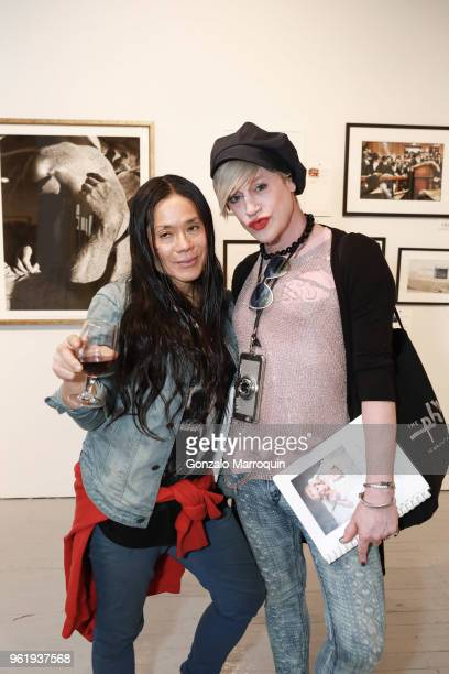 Dah and Richie Rich during the Humane Society Of New York In Partnership With Aperture Foundation Fine Art Photography Benefit Auction on May 23 2018...