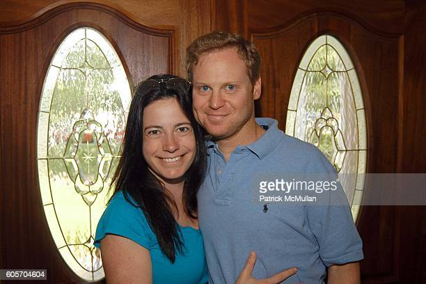 Dahlia Loeb and Michael Lewittes attend Beauty Day Hosted By Rosario Dawson at Jaguar Cain Estate on July 9 2006