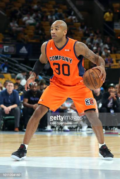 Dahntay Jones of 3's Company in action during week 7 of the BIG3 basketball league on August 3 at TD Garden in Boston MA 3's Company won 5133