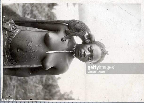 Young lady of Dahomey Undated photograph