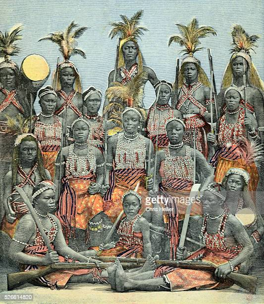Dahomey Amazons or Female Warriors 1897