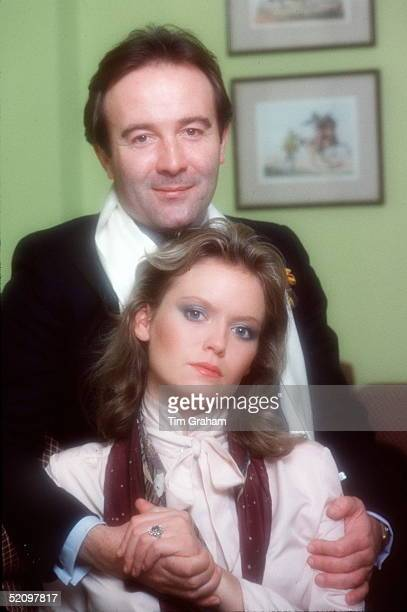 Dai Llewellyn And His Future Wife Vanessa Hubbard At Home In London
